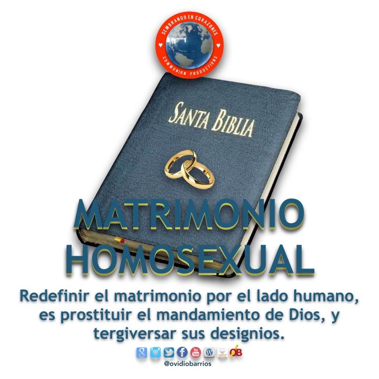 Matrimonio Gay Biblia : Sembrando en corazones página reflexiones y